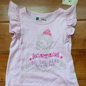 Baby Gap Disney Sofia the First Girls shirt